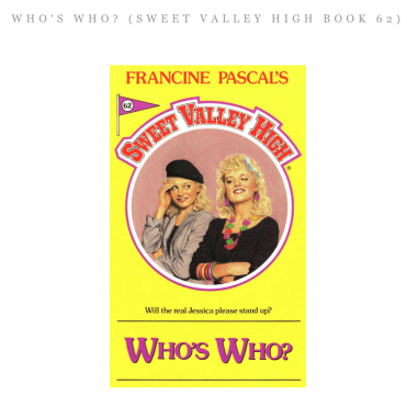 Who's Who Sweet Valley High