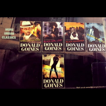 Donald Goines books