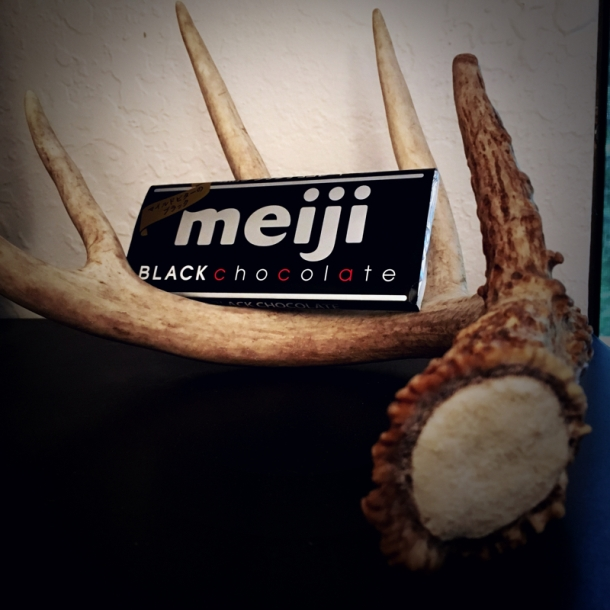 Meiji black chocolate
