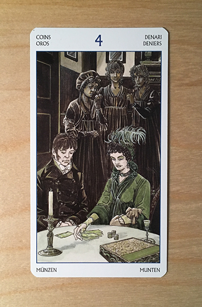 Jane Austen tarot card 1