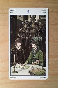 Jane Austen tarot card 1