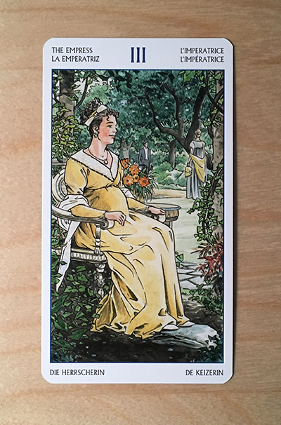 Jane Austen tarot CARD 2