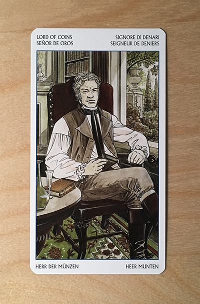 Jane austen tarot CARD 3