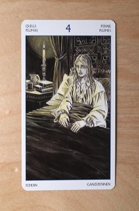 jane austen tarot CARD 5