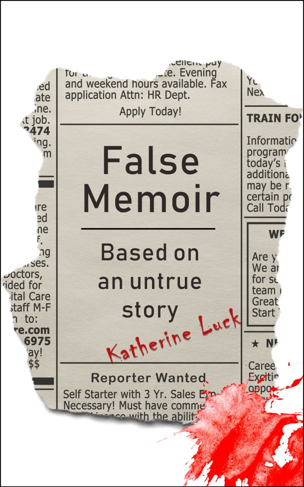 False Memoir Katherine Luck_Cover For Web