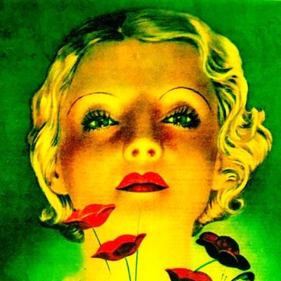 Glow in the dark Radium makeup