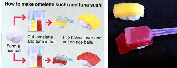 Making candy tuna