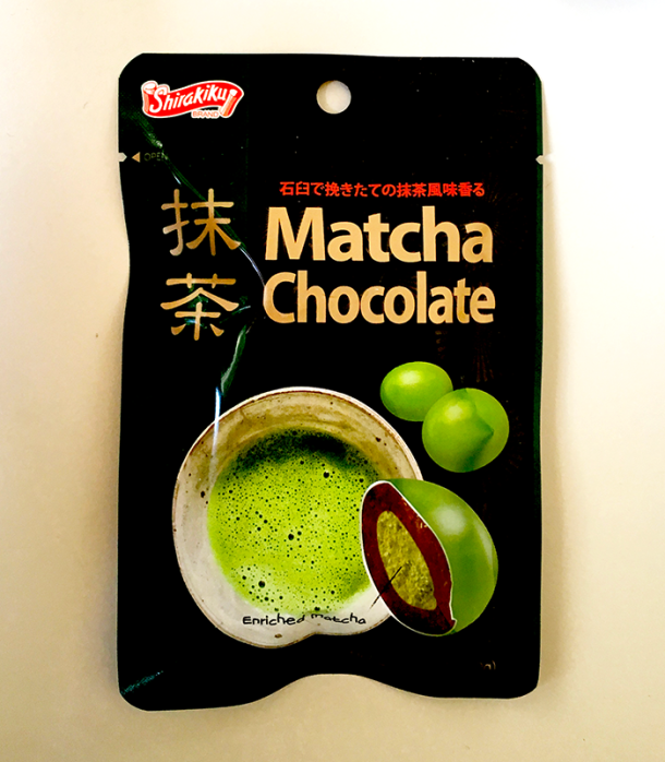 Matcha chocolate candy