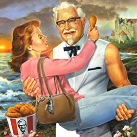 The terrible tale of the Kentucky Fried romance novel