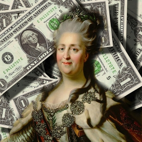 Catherine the Great's shockingly expensive hobby