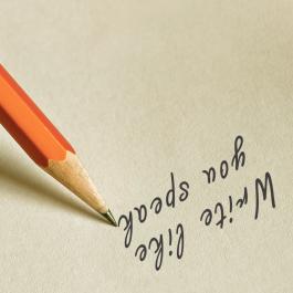 Write like you speak