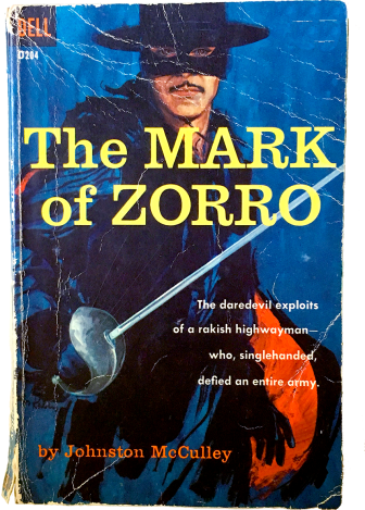 Mark of Zorro_1950s book cover