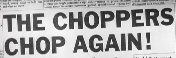 Choppers headline
