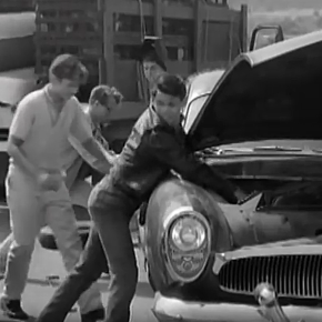 Watch these teens steal (most of) a car