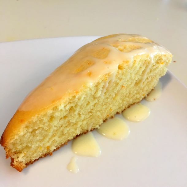 Golden rod cake