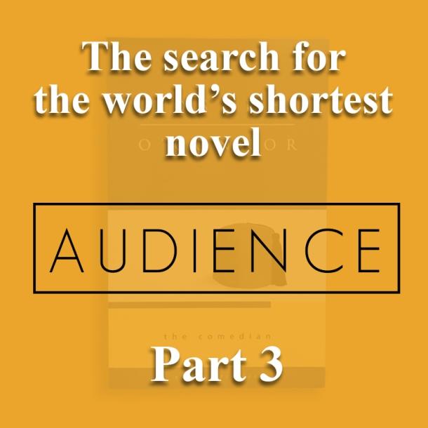 The world's shortest novel_audience
