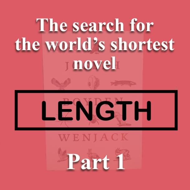 The world's shortest novel_length