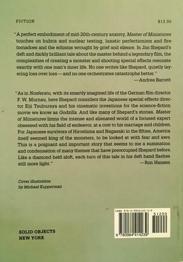 Master of Miniatures back cover