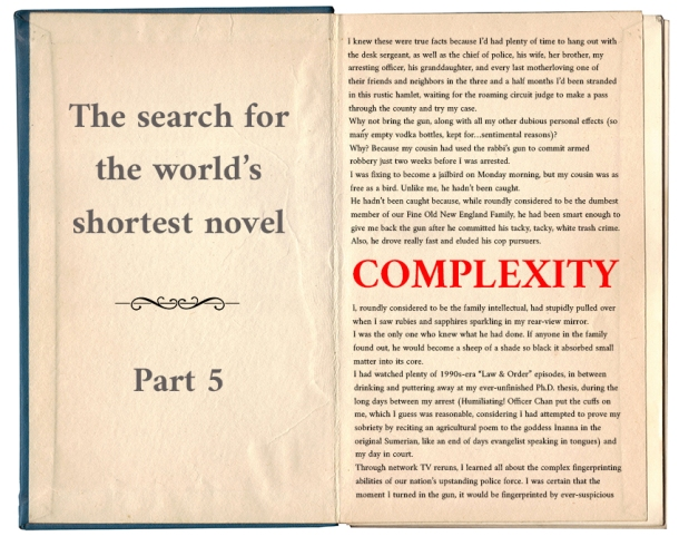 World's shortest novel_complexity