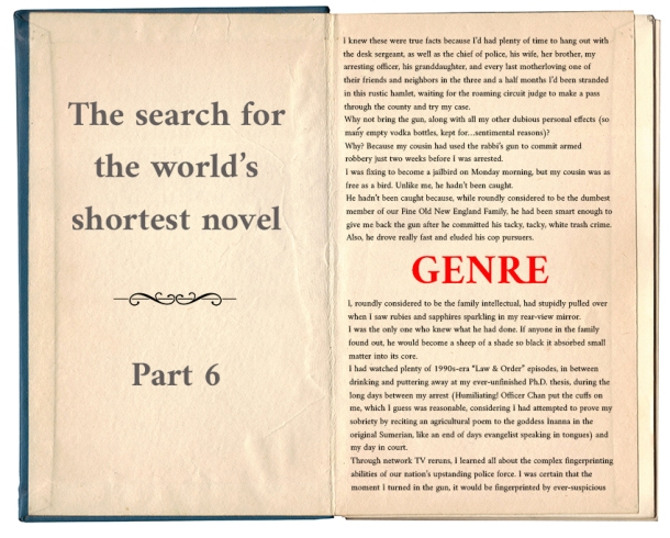 Worlds shortest novel_genre