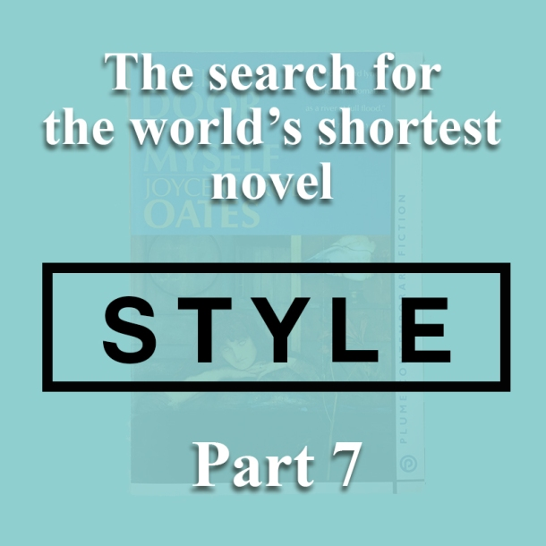 The world's shortest novel_style