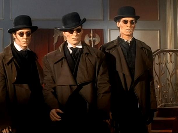 Retro Puppet Master mummies