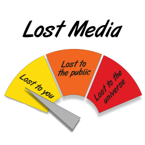 In search of lost media